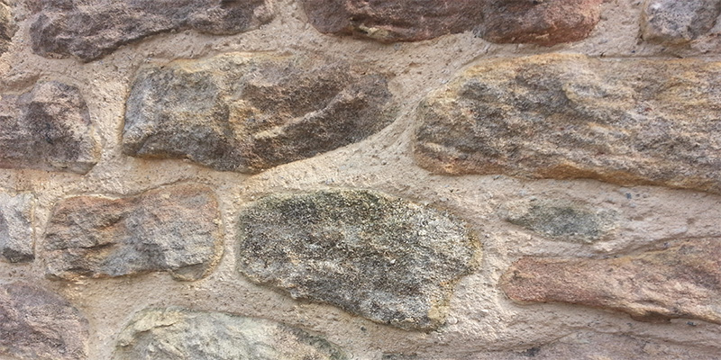 Lime Mortar Rendered Wall