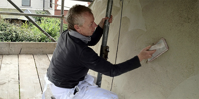Lime plaster courses